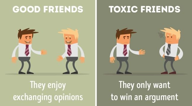 Good Friends Vs Toxic Friends 10 Major Differences Toxic Friends Toxic Friendships Funny Kid Memes