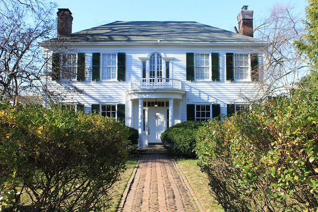 17 Best Images About Colonial Revival Exterior Inspirations On Pinterest House Custom