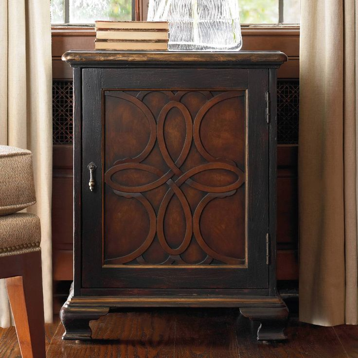 Hooker Furniture Accent Chest - The upscale and elegant Hooker Furniture Accent Chest features intricate details and a distressed finish that make it perfect for your classic or contemporary...