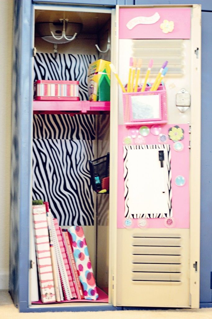 homeschool room lockers i like this idea so that each child has a special safe place - Locker Designs Ideas