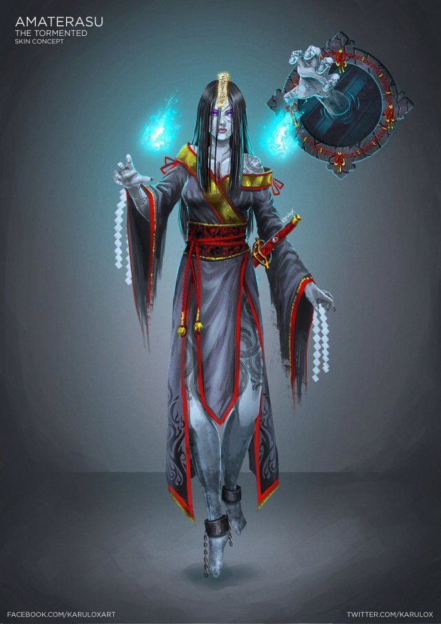 amaterasu__the_tormented___skin_concept_for_smite_by_karulox