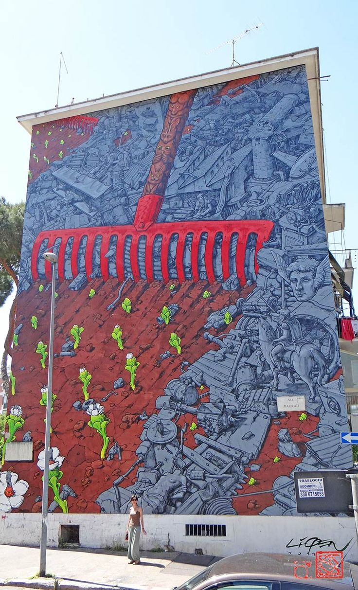 El Devenir – Le street art par LIQEN