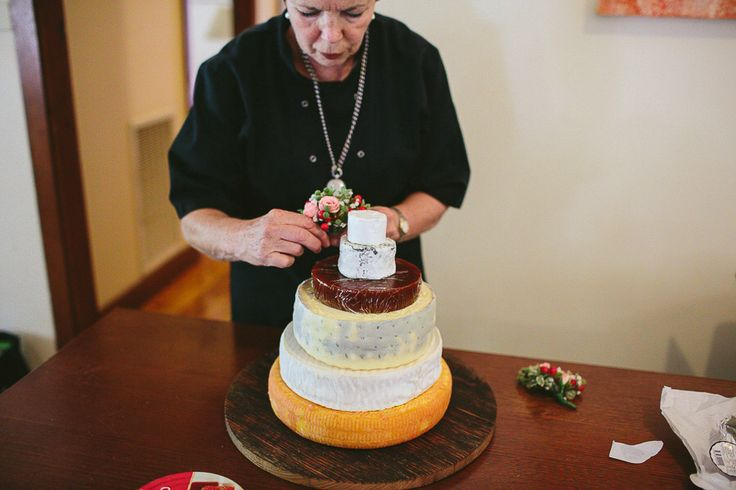 """Tracy and Andrew - Our beautiful wedding at """"Lilyvale"""" Royal National Park, NSW, Australia - 9 Nov 2013 Cheesy Wedding Cake"""