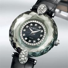 Alexandrite watch.  The face changes colour depending on the light