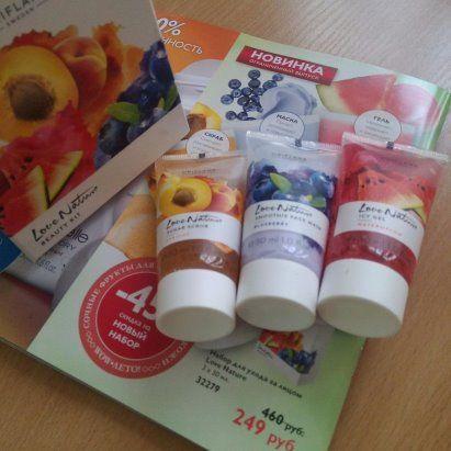 Сочные фрукты для здорового сияния кожи, код набора #32279 #уходзалицом #orilyuks