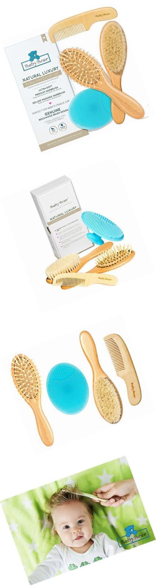 Health and Grooming 45452: Natural Luxury Baby Hair Brush And Comb Set ~ Newborn Hair Brush Natural ~ Ideal -> BUY IT NOW ONLY: $35.79 on eBay!