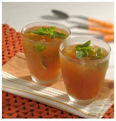 Orange Mint Iced Tea  http://www.hulettssugar.co.za/step_into_our_kitchen_recipes_orange_mint_iced_tea_thirst_quenchers_recipes