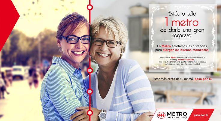Campaña Metro Día de la Madre 2014