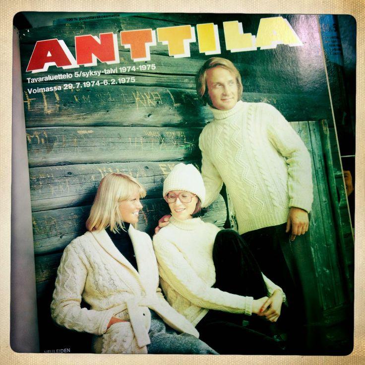 Anttila, Tavaraluettelo, 1974