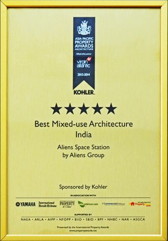 best mix use architecture award for aliens