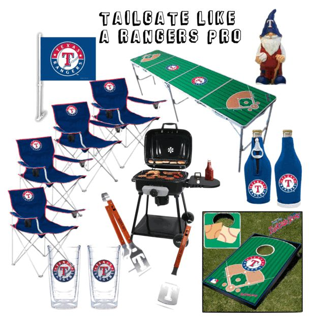 Tailgate like a Rangers Pro with these essential items. #RangersPinspiration