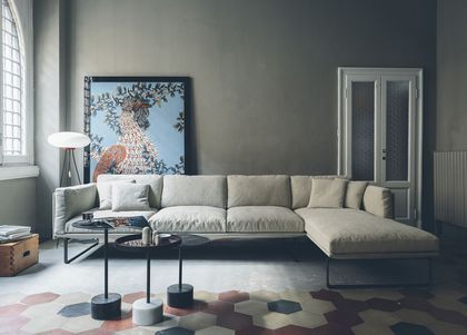 Un canapé d'angle ultra-confortable
