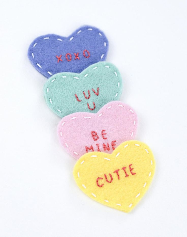 Tell that special someone how you feel this Valentine's Day with these Mini Felt Conversation Hearts. This Valentine's Day idea is a cute and fun way to surprise a friend or a loved one. Inspired by the popular conversation heart candy, this craft features felt hearts with adorable little messages of love and friendship on them. It's a perfect craft for children and adults, and it would make a fantastic Valentine's Day gift idea. With this valentine craft, you can create something unique…