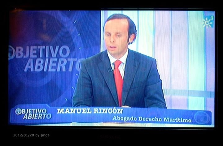 Abogado Malaga, El Abogado Manuel Rincón e su intervención en Canal Sur Televisión al que fué invitado como Director de RINBER Abogados  www.rinberabogados.com