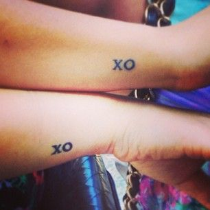 For your gossip buddy: | 56 Matching Tattoos That Will Give You Squad Goals