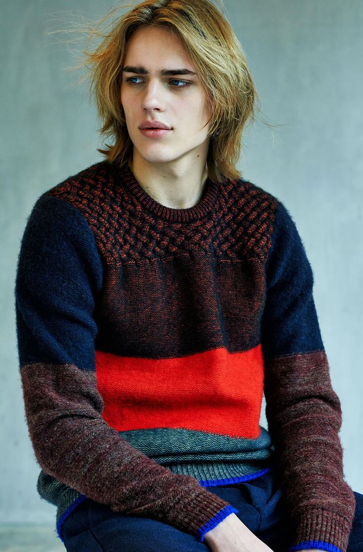 Ton Heukels for Scotch & Soda Fall/Winter 2013 via http://www.dailymalemodels.com
