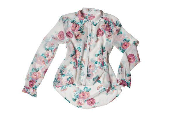 Camisa de gasa floreada (Kimeika)