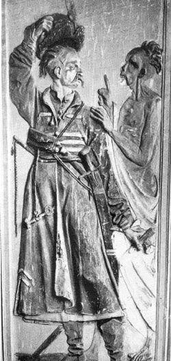 Polish 17th century kontusz