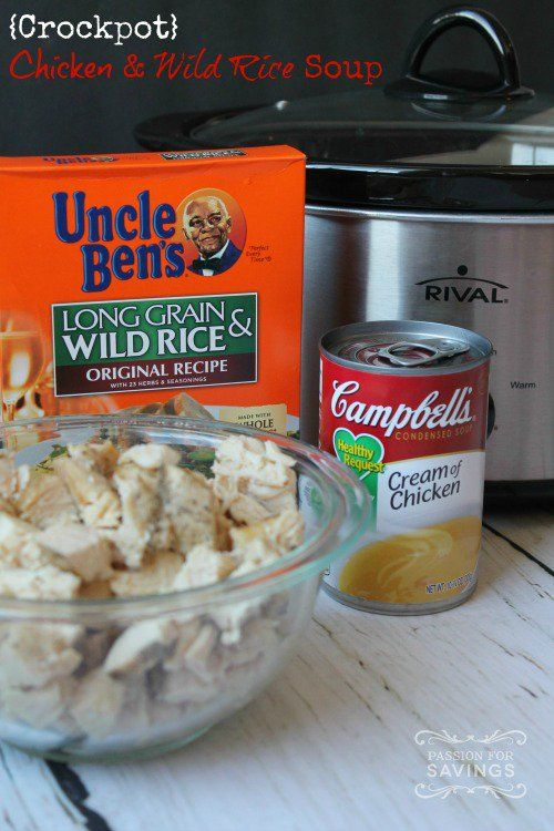 best cream of chicken and rice soup recipe