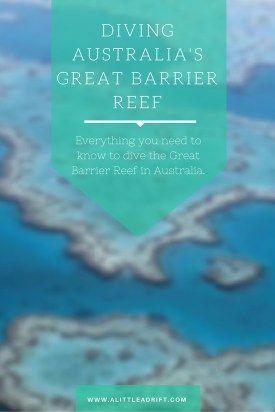 Diving #Australia's Great Barrier Reef. http://alittleadrift.com/2009/01/diving/