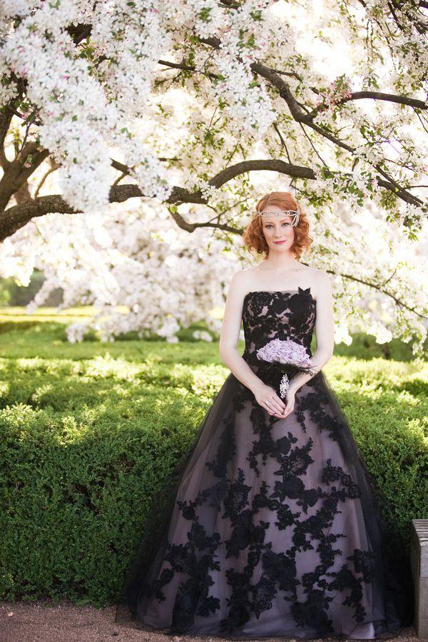 Black Photo By Ashley Biess Event Design La Belle Fleur