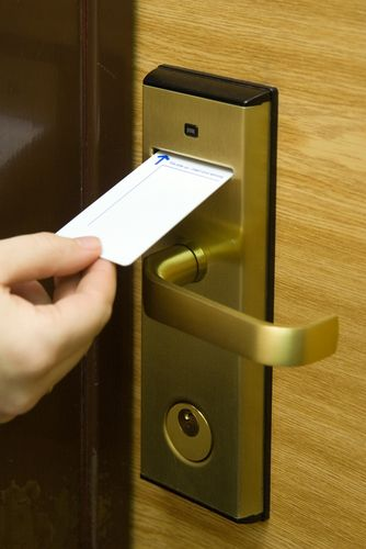 Sometimes theft of guest's property can be a common problem in a hotel. Due to hotels not wanting to be held liable, they are doing multiple things to try and decrease these occurrences. One common thing they are focusing on is electronic key lock. These electronic keys allow the hotels to essentially change the locks every time a new guest uses a room
