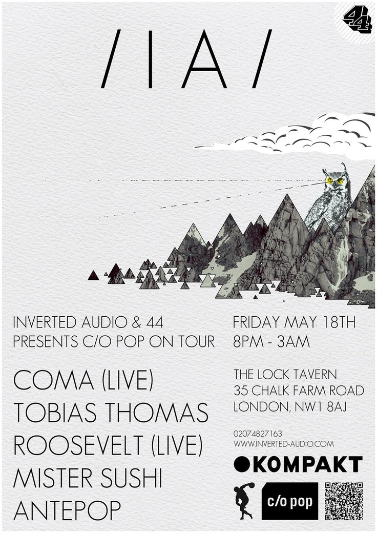 Kompakt Records event flyer