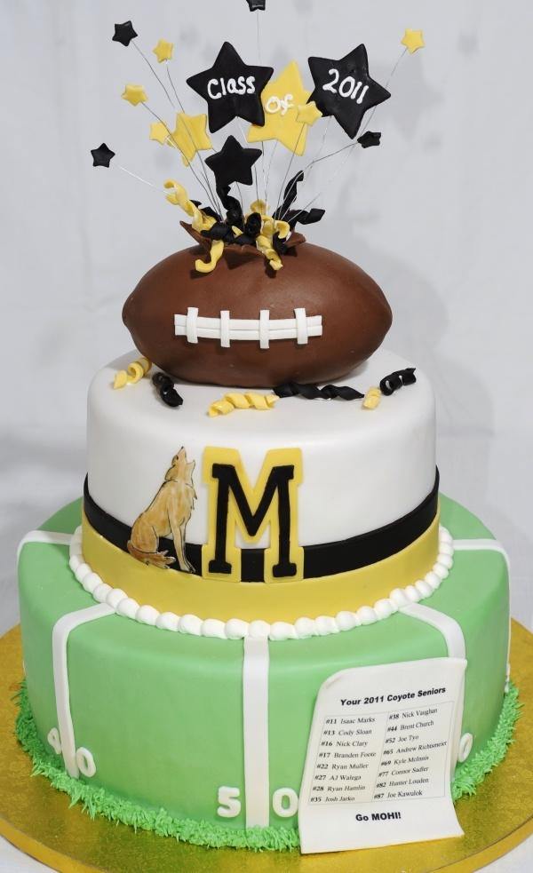 Cake Decor Football : 10 best Football cake images on Pinterest Football cakes ...