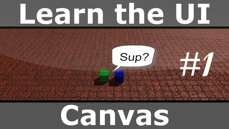 Learn the UI - Canvas - Unity 4.6 Beta