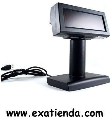 Ya disponible Visor alfanumer. USB negro   (por sólo 82.95 € IVA incluído):   -Tamaño del caracter: 3.75mm x 4.75mm -Contruido en 13 tipos de fuentes y 96 alfanumericos. -9 clase de instrucciones -20 caracteres x 2 lineas. -Ajuste de angulo de inclinacion de pantalla 53º. -Conexion USB   Garantía de 24 meses.  http://www.exabyteinformatica.com/tienda/461-visor-alfanumer-usb-negro #visores #exabyteinformatica