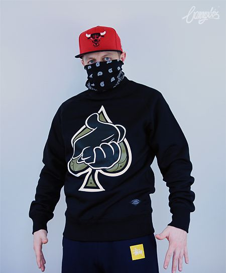 Bluza Crooks & Castles Airgun Spades