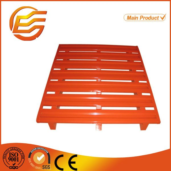stackable reinforced euro pallet size for warehouse storage