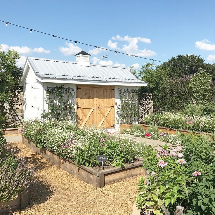 Beautiful Potager Garden With Raised Beds And Pea Gravel