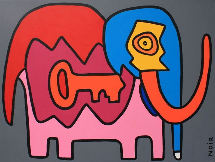 The Intelligent And Entertaining Art Of Thierry Noir Will Be Presented In  Los Angeles For The First Time, In The Organization Of Howard Griffin  Gallery, ...