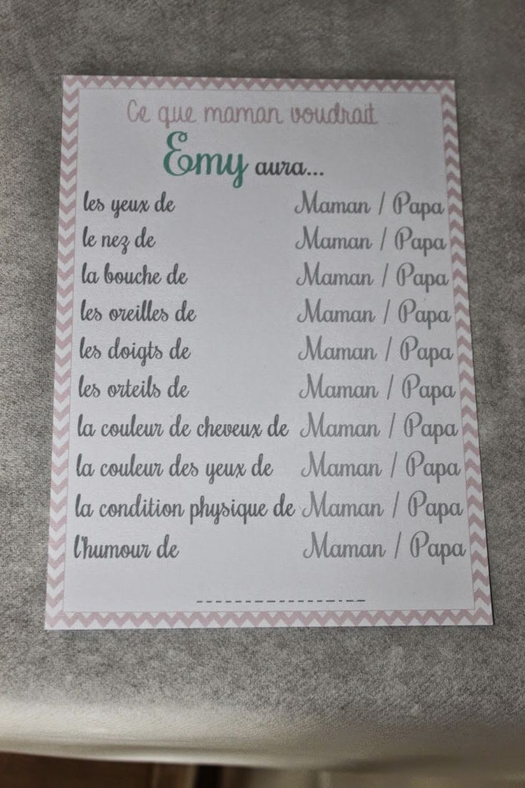 .. Baby Shower pour Emy ! ..