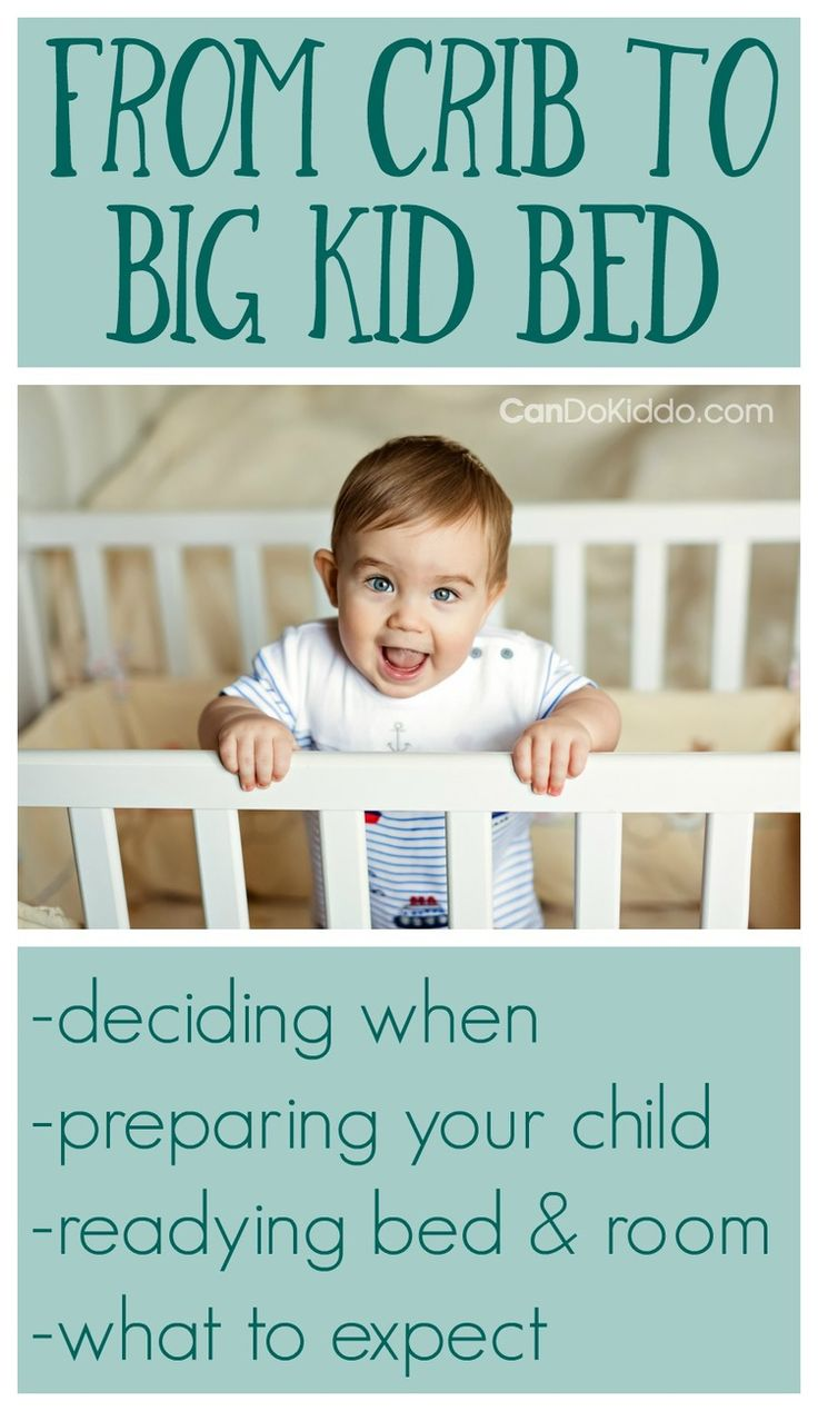 How Early Can I Move My Toddler To A Big Kid Bed?