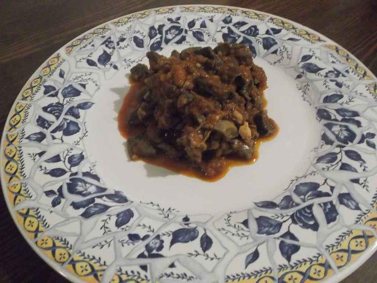 CORATELLA D'AGNELLO  CLICCA QUI PER LA RICETTA http://www.loscrignodelbuongusto.com/ricette/antipasti/506-coratella-d-agnello.html