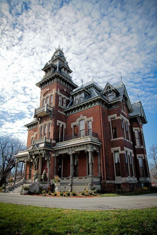 The Vaile Mansion in Independence, MO, built in 1881 - one of my many Victorian home inspirations.