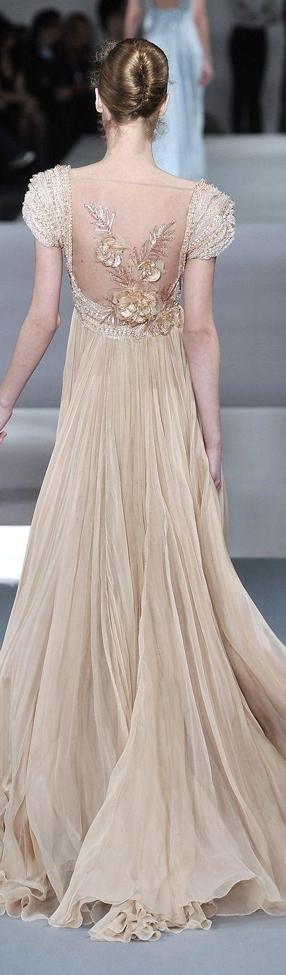 2640 best 2000 s images on pinterest christian lacroix for Elie saab blush wedding dress