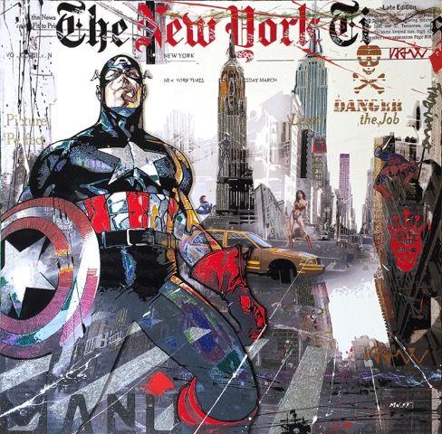 Nelson Fabiano - Superheroes In NYC