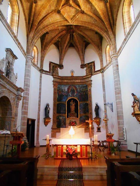 Cabecera de la Iglesia del Convento de Nuestra Señora de los Huertos