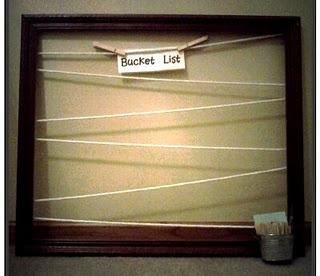 cute and classy diy bucket list