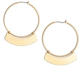 Women's Madewell Crescent Hoop Earrings