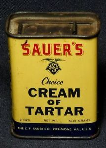 7 best images about c f sauer 39 s spices and extracts on for Retro kitchen set of 6 spice tins