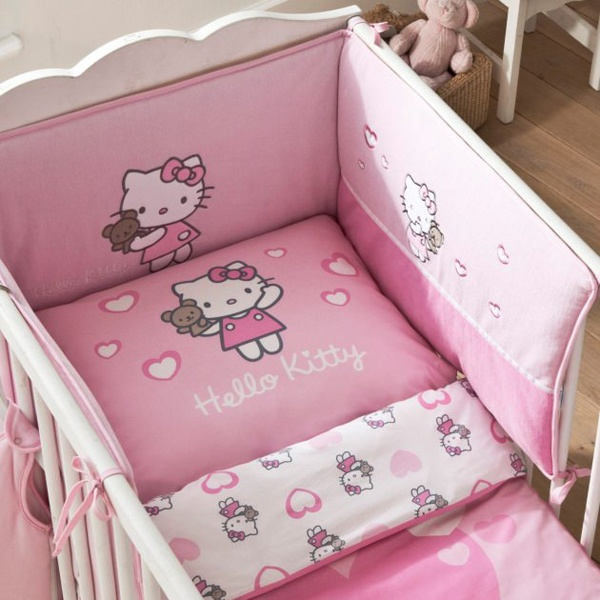 collection hello kitty alice pour une chambre bb thme hello kitty - Decoration Hello Kitty Chambre Bebe