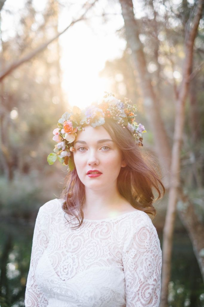 Enchanted Forest   Bohemian Styled Shoot by Lauren Metzler  http://laurenmetzler.com/ Follow my Instagram @laurenmetzlerphotography   Bohemian Forest Wedding Inspiration Modern Bride