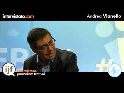 Intervista con Andrea Vianello, conduttore di Agorà su Rai 3.