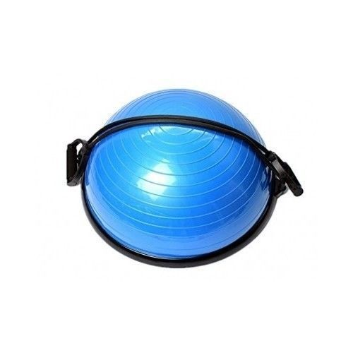 Balance Trainer Ball Exercise Fitness Yoga Mat Stability Bands Bike Machine  #SUNVP
