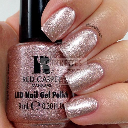 Red Carpet Manicure New Spring Gel Polish Colors