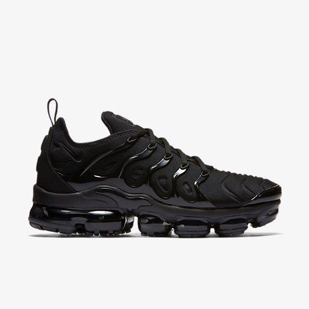 a0f8cfb069d94 Nike Air Vapormax Plus Triple Black